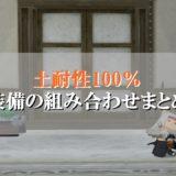 ドラクエ10土耐性100