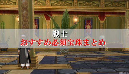 【戦士の宝珠】おすすめ必須を初心者向けに厳選!